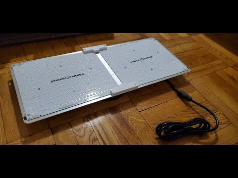 Spider Farmer SF-2000 Quantum Board LED Grow Light Unboxing and Overview