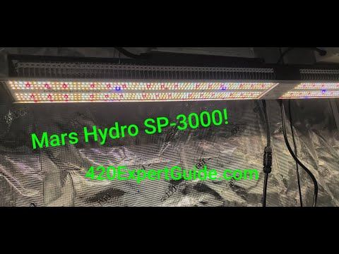 Mars Hydro SP-3000 Grow Light (Overview)