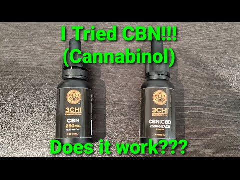 CBN (Cannabinol) - This Is What Happened When I Tried This Cannabinoid
