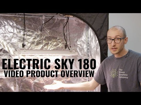 Electric Sky 180 Wideband LED Grow Light Product Video
