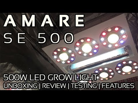 Amare SE500 LED Grow Light Review