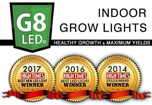 Best Grow Light Of The Year Hightimes Awards- G8 LED Grow Light Review