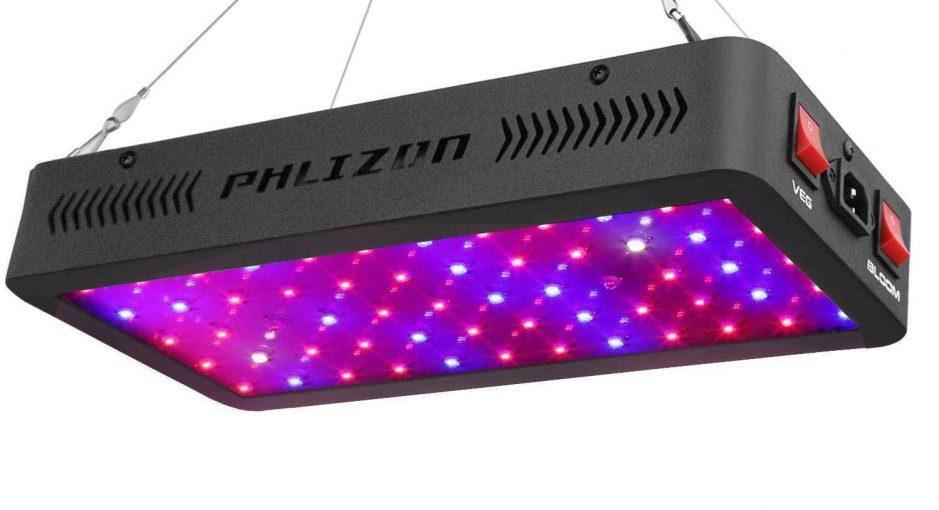 Phlizon Newest 600W - A Cheap LED Grow Light Review
