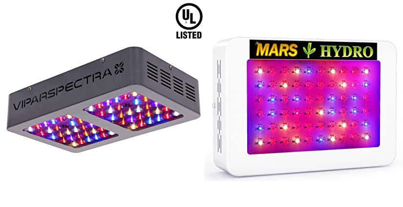 Mars Hydro Vs Viparspectra Grow Lights Pictures Specs