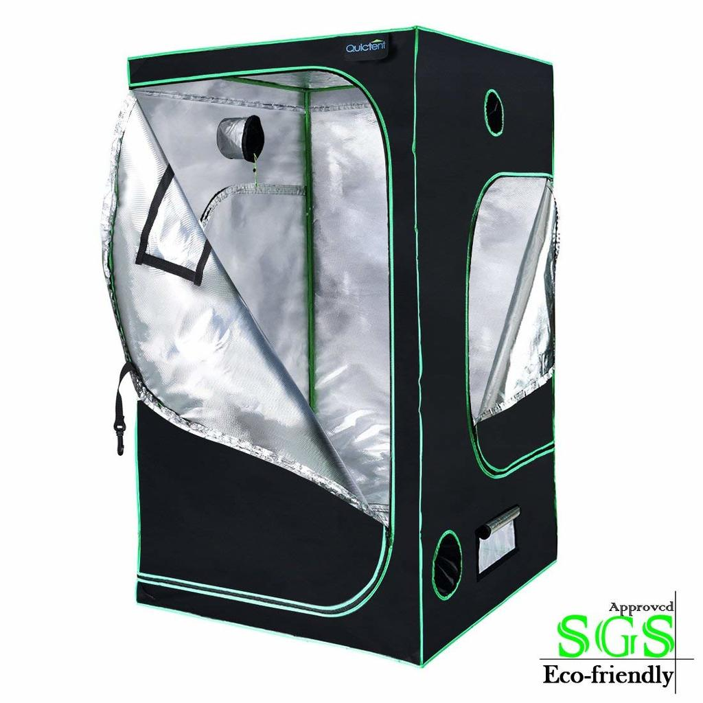 Quictent SGS Approved 48X48X78 Grow tent - best budget grow tent