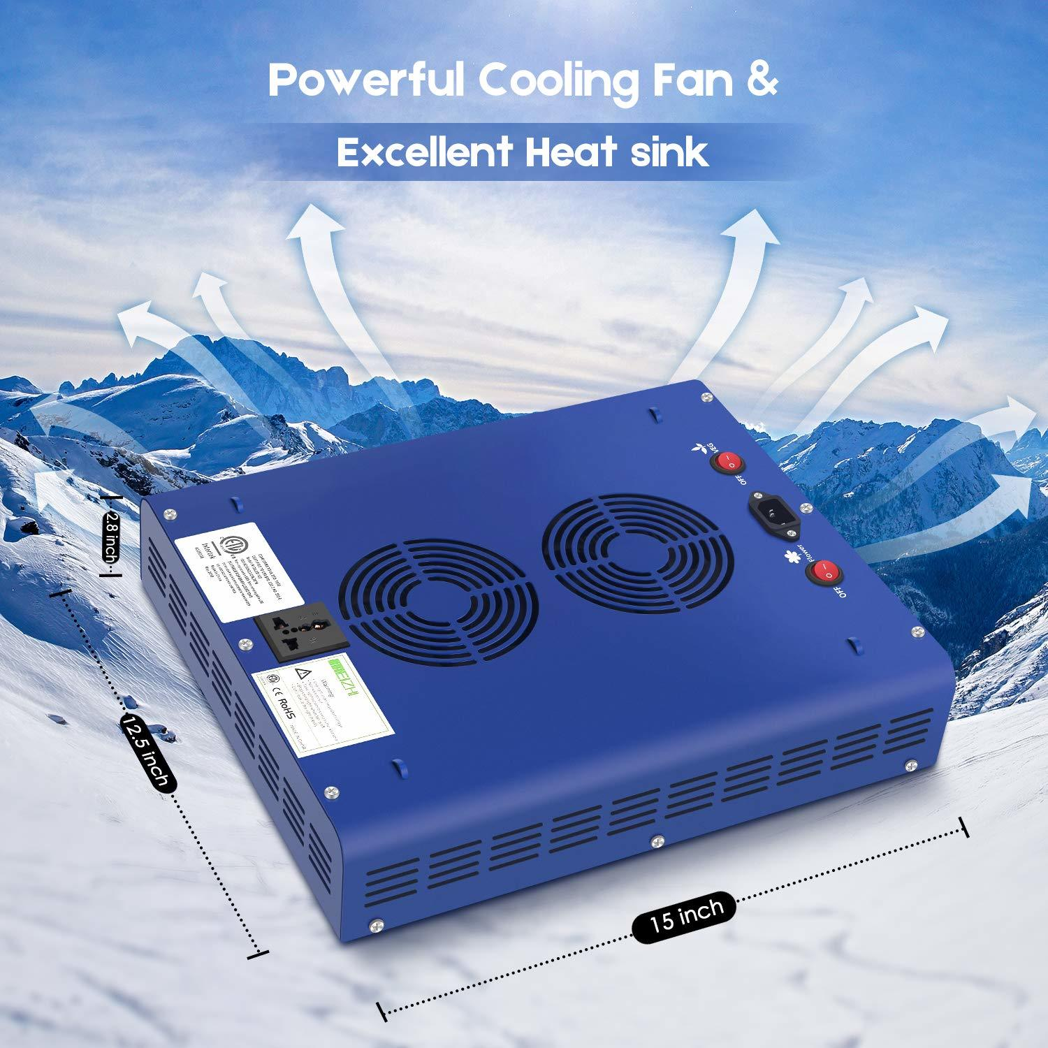 Meizhi Cooling System that well balance inside temperature