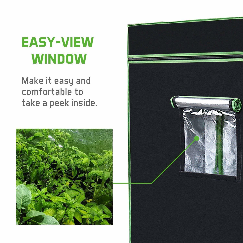 Observation Window - Vivosun Indoor Grow Tent Review