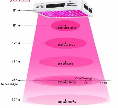 1200 Watt - PAR Results