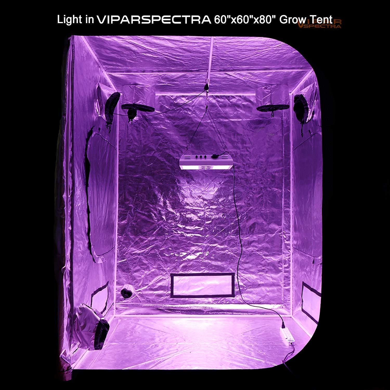Viparspectra PAR450 450 Watt LED In Grow Tent