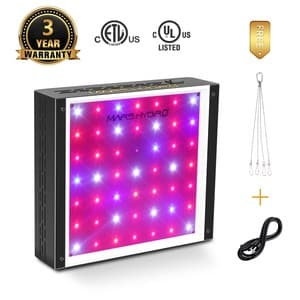 Mars Hydro 300w Led Grow Light Great For Small Grow Spaces