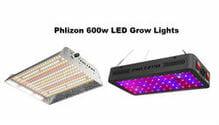 phlizon 600w grow lights