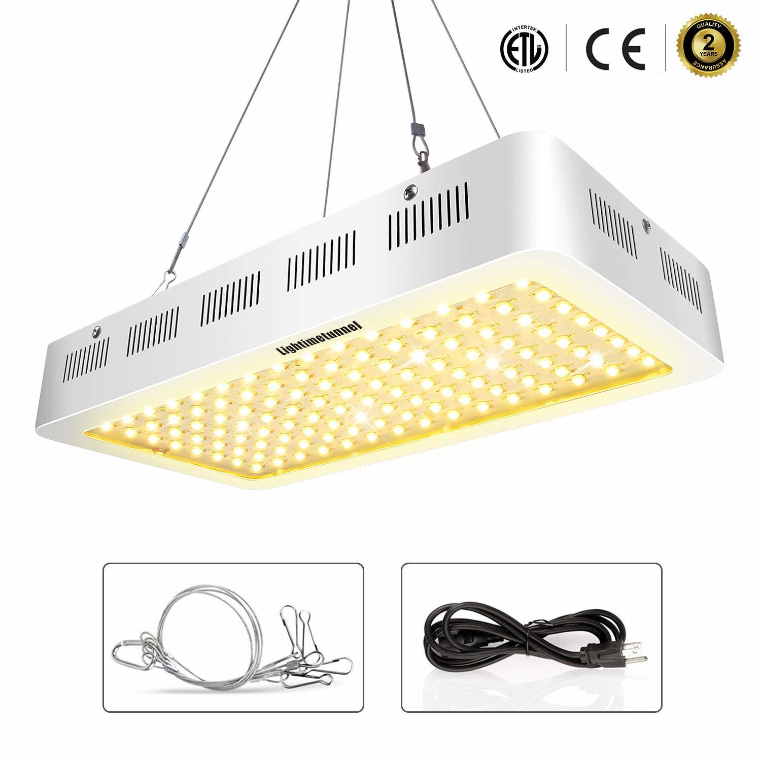 Lightmetunnel 1200W Powerfull Fullspectrum LED Grow Light