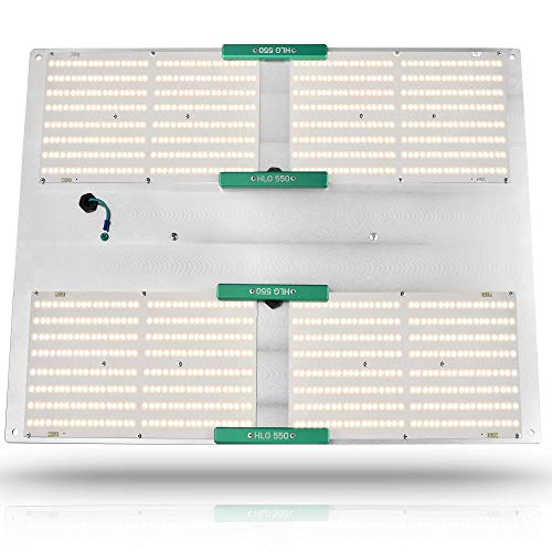 HLG 550 v2 Quantum Board vs  Green Sunshine ES300 LED Grow Light