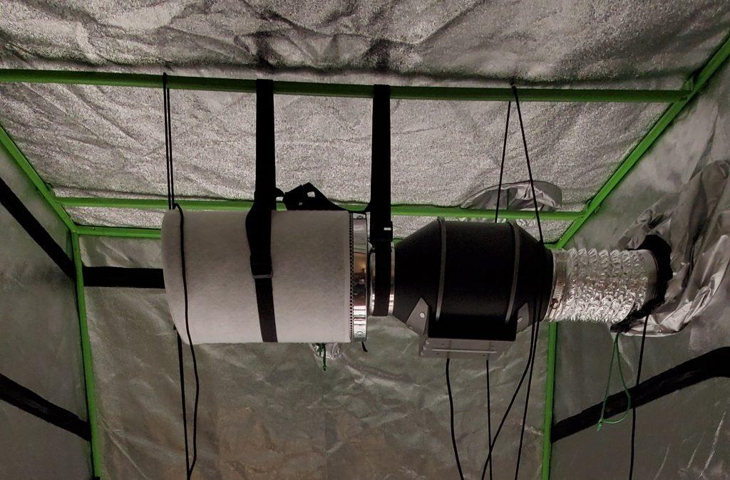 grow tent fan