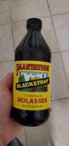 molasses bottle