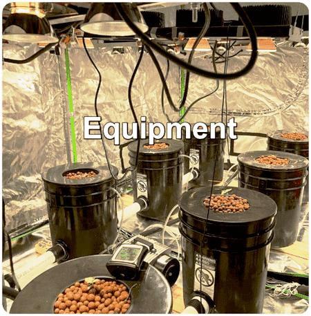 list of cannabis growing equipment