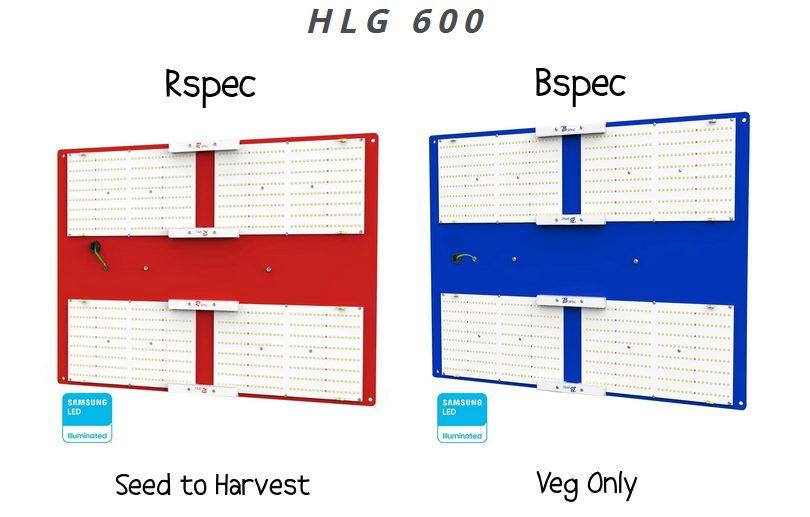 Spider Farmer SF-7000 vs HLG