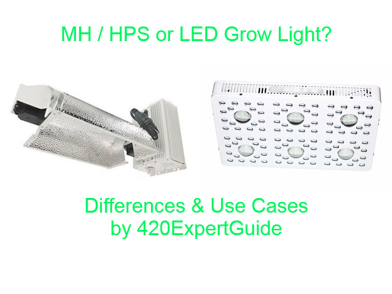 hps vs led grow light