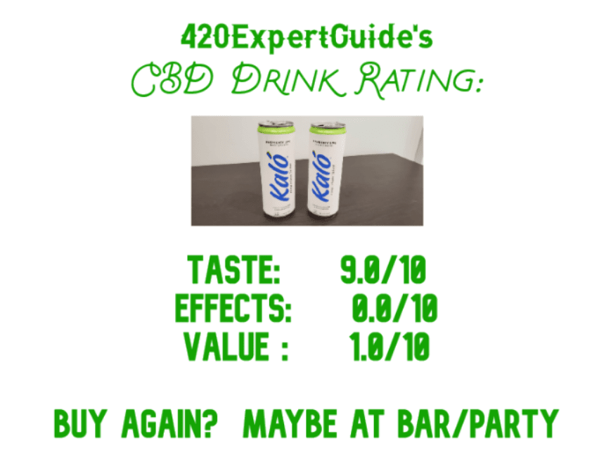 cbd drink review