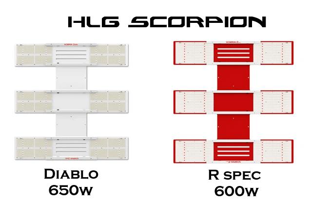 HLG scorpion grow light